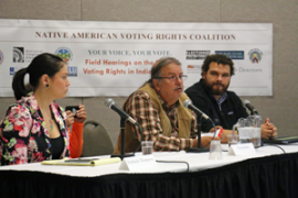 photo of October 2017 voting rights field hearing